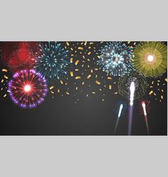 festive celebrating light concept vector image