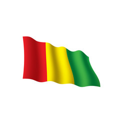 guinea flag vector image