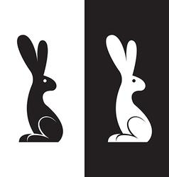 Image a rabbit design vector