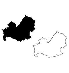 molise map vector image