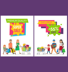Premium quality super sale vector