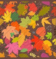 season rain seamless background texture vector image