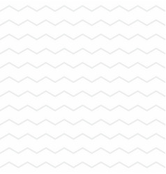 Tile pattern with grey zig zag on white background vector