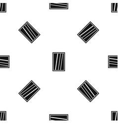 White rectangle window pattern seamless black vector