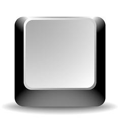 Black Empty Keyboard Key vector image vector image