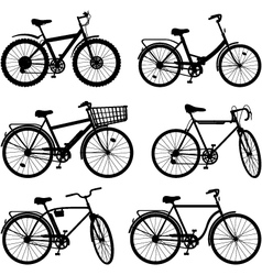 Bicycle Pictogram Set 2 vector image vector image