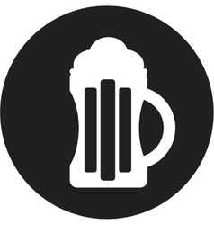 Beer icon vector image