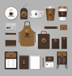 Corporate identity template logo concept vector