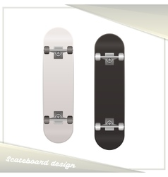Design Skateboard vector image