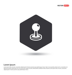 Golf ball icon vector