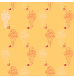 Icecream background vector