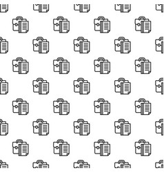 money suitcase pattern seamless vector image