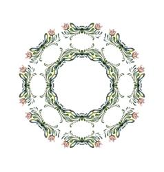 Ukrainian wreath vector