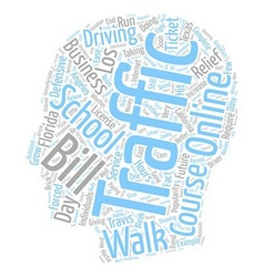 Walk In Traffic Schools A Bleak Future text vector image