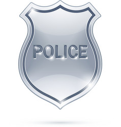 Police badge vector