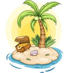 Treasure island vector