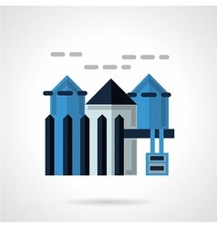 Rental of property flat icon vector image