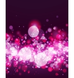 Abstract magenta bokeh background vector image