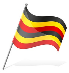 Flag of Uganda vector