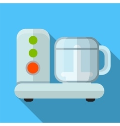 Food processor flat icon vector image