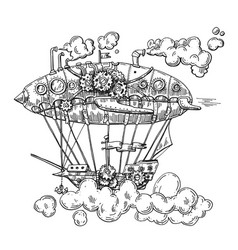 hand drawn sketch vintage vector image