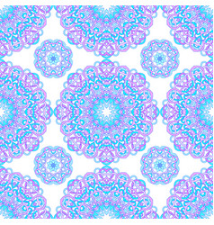 seamless pattern of abstract mandalas vector image