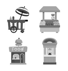 Service and storefront vector