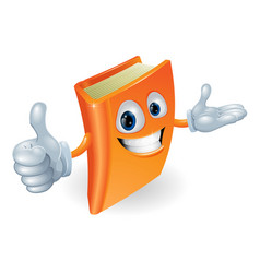 book character vector image