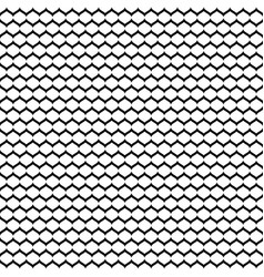 Seamless pattern monochrome mesh black white vector