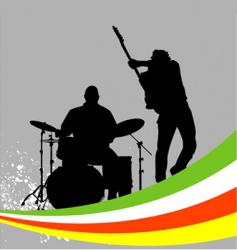music concert vector image vector image
