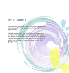 Background circle vector image