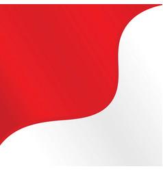 Indonesian flag background design vector