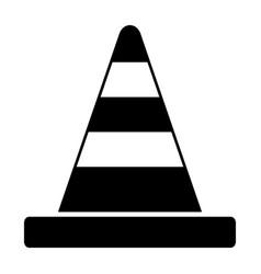 Road cone vector