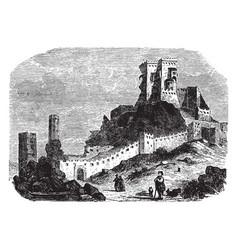 thebes principal city baeotia in ancient vector image