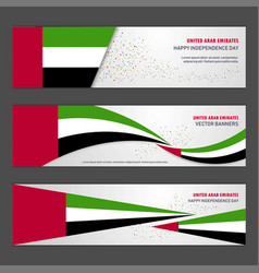 Uae independence day abstract background design vector