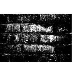 grunge retro texture of the brick wall vector image