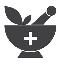 alternative medicine icon vector image