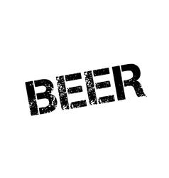 Beer rubber stamp vector image