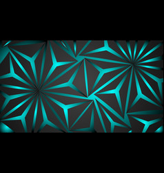 design background abstract black polygon vector image