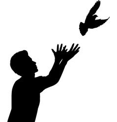 Dove release vector