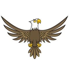 Eagle cartoon vector