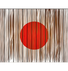 Grunge japan flag Eps10 vector