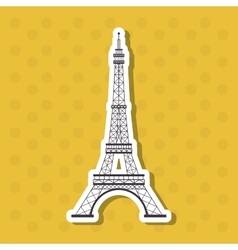 Icon design of France vector image