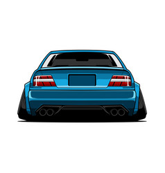 jdm car vector image