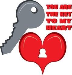 You Are The Key vector