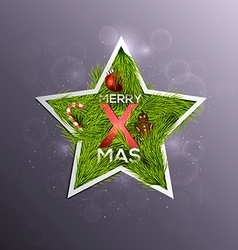 Christmas Background 6 vector image vector image