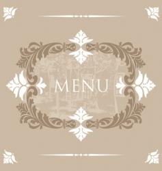 menu32 vector image vector image