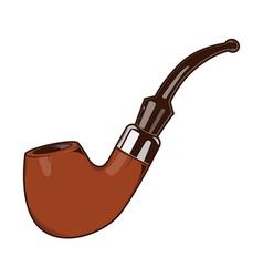 Smoke Pipe vector image