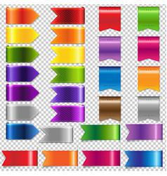 web ribbon big set vector image vector image