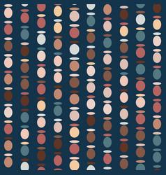 Abstract bead circle texture pattern vector